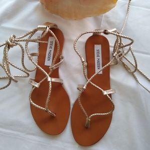 Steve Madden strings sandals.  Size 8.5